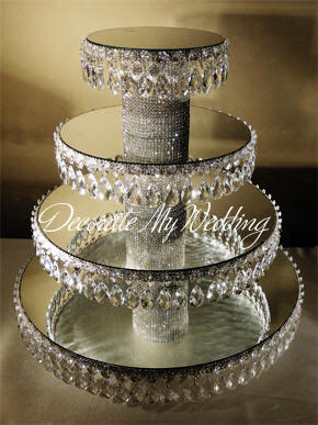 how to make a wedding cake stand out of styrofoam a vision of elegance event rentals 15898