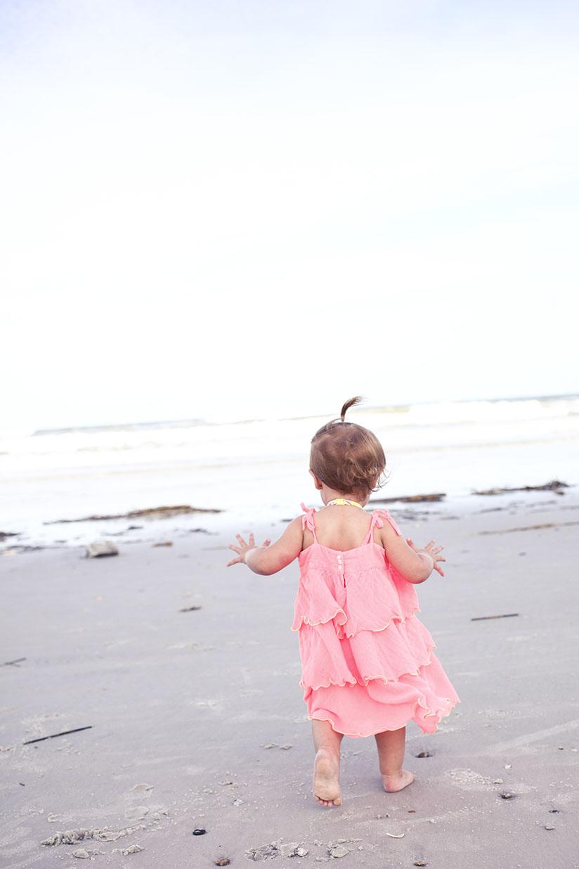 Toddler in ruffled dress by Sunuva