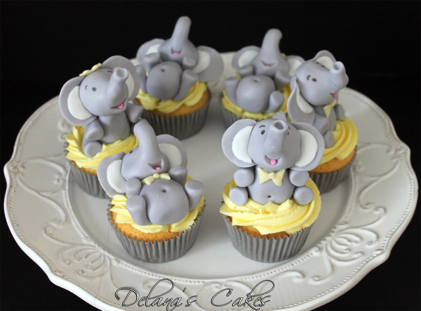 Country Oven Baby Shower Cakes