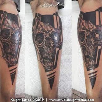 #tattoos #skull #caveira