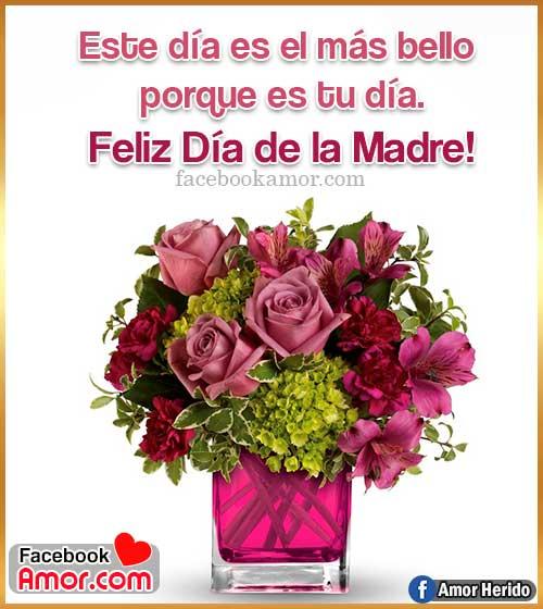frases con ramos de flores para mamá