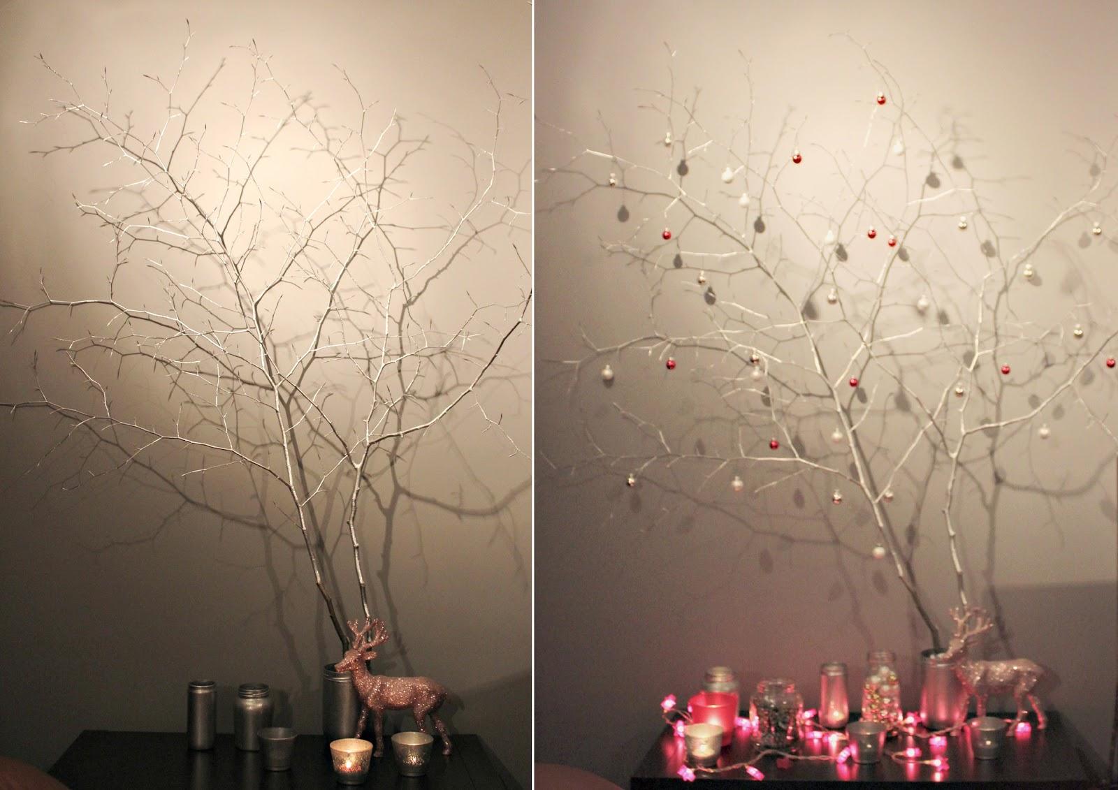 sugar and dinosaurs diy 12 l 39 arbre de no l en branches. Black Bedroom Furniture Sets. Home Design Ideas