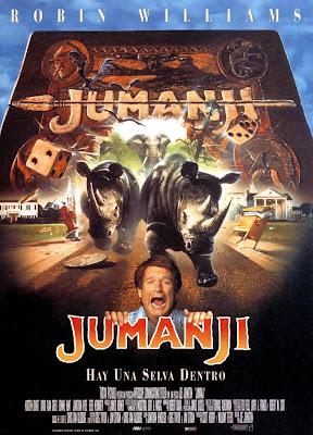 Jumanji - 1995 - Cartel