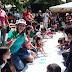 Creciendo con los niños y niñas de la patria activados en Victoria de Paz