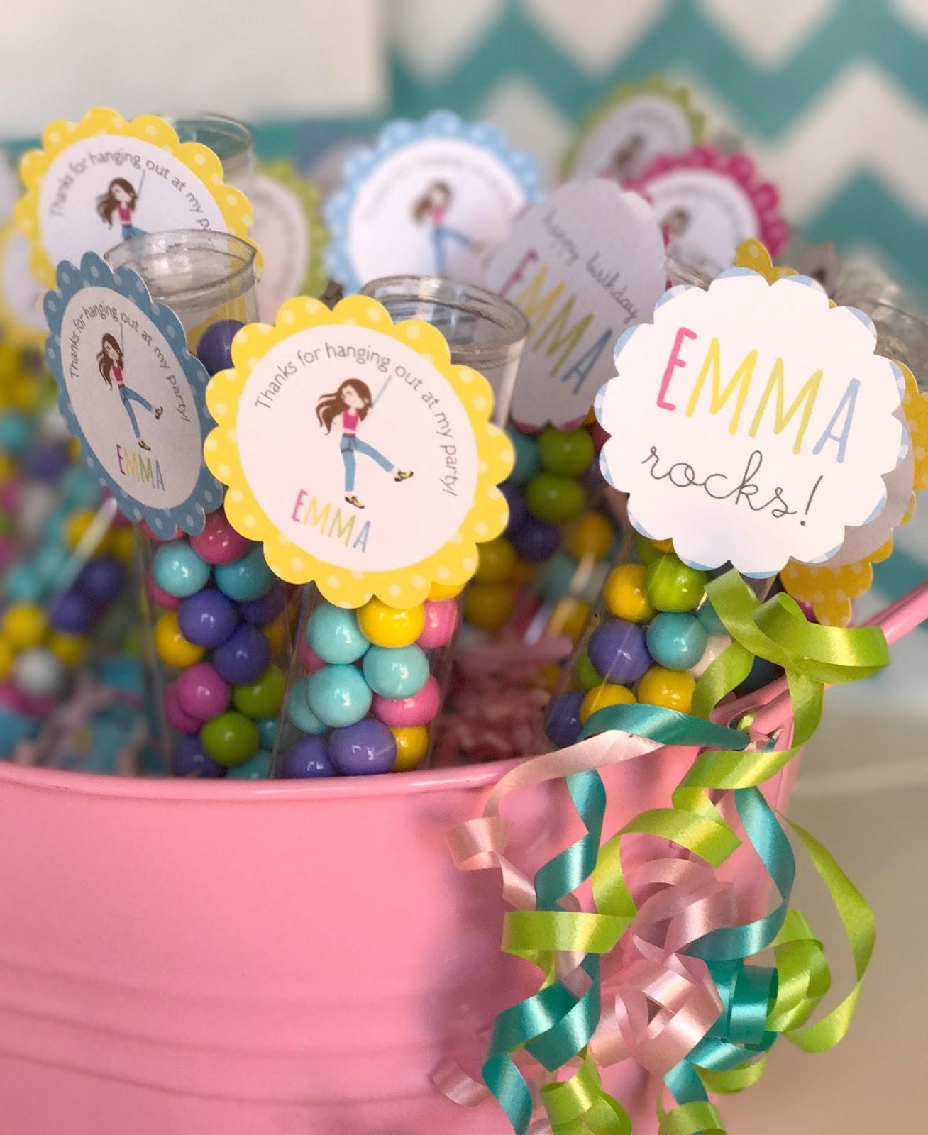 A Little Loveliness: Emma\'s Rock-Climbing Birthday Party