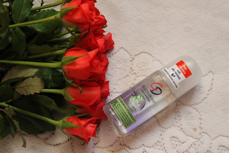 cd antyperspirant w kulce lilia wodna