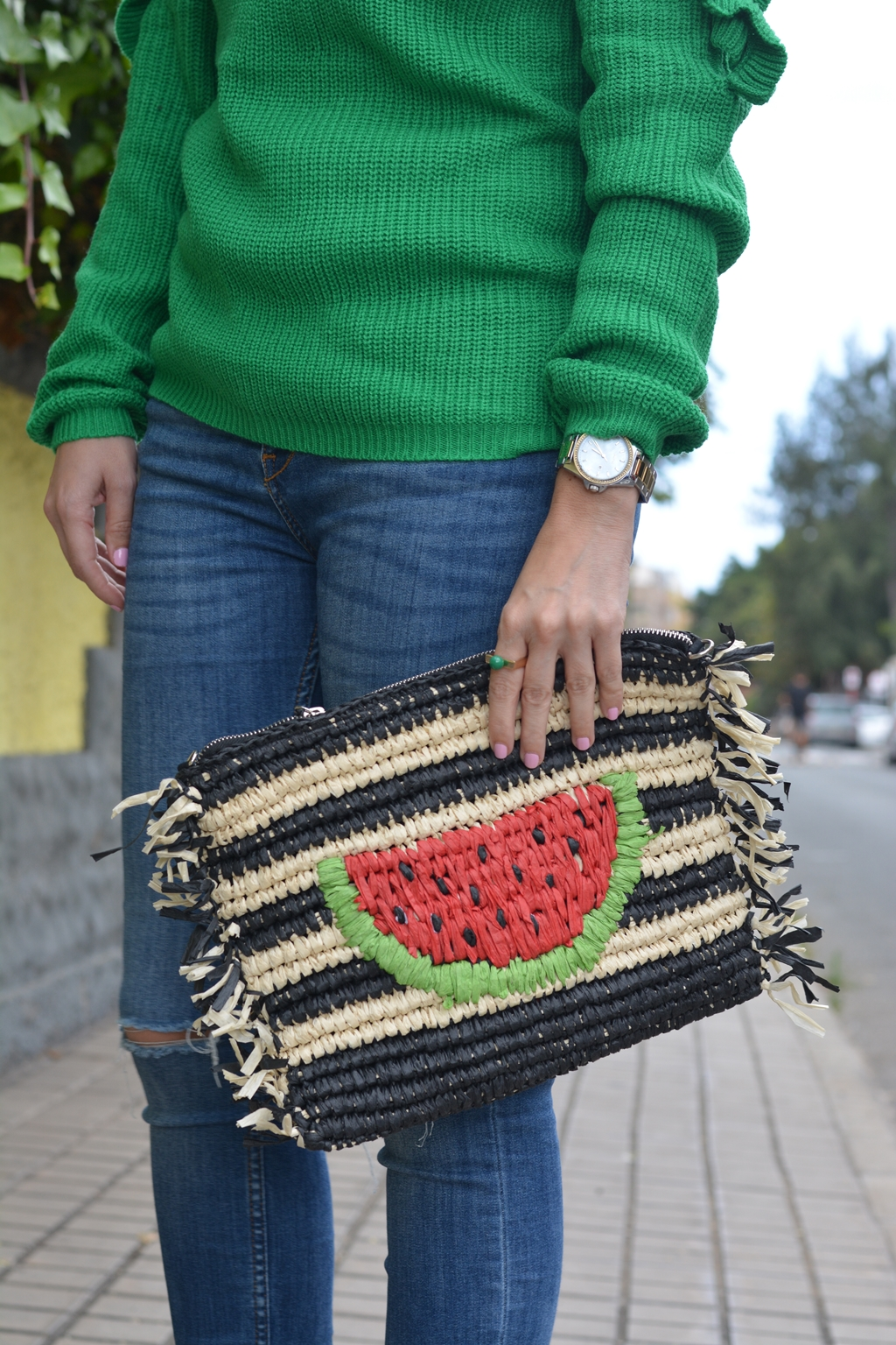 watermelon-clutch-outfit-parfois