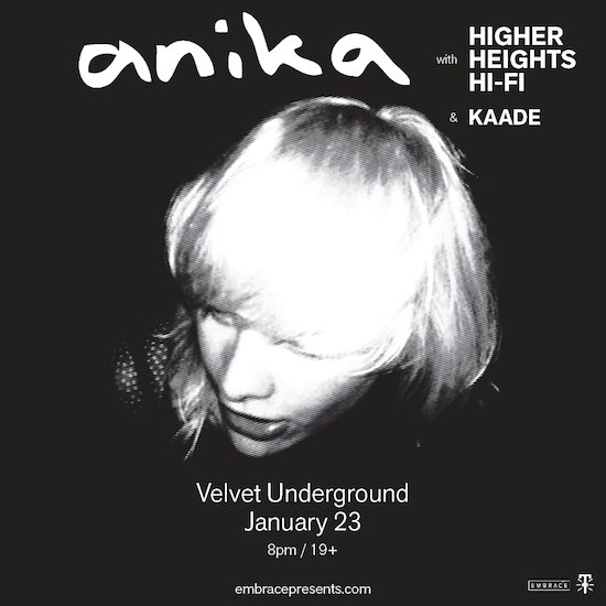 Anika @ The Velvet Underground, Wednesday
