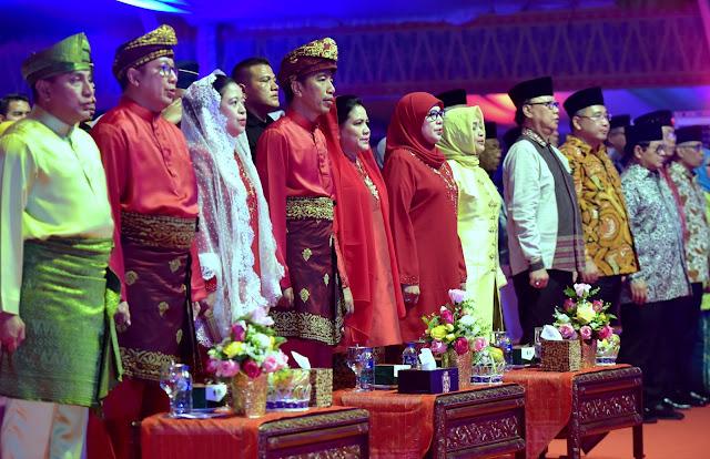 Bumikan Al Quran, Presiden Jokowi: Umat Islam Harus Jaga Persaudaraan, Persatuan, dan Kerukunan