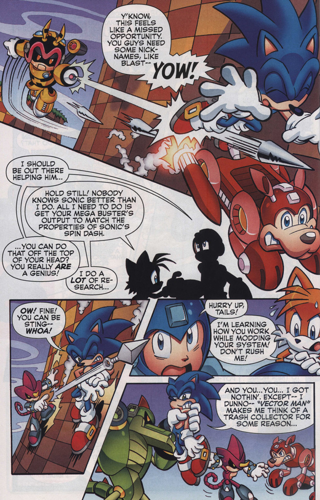 Read online Sonic The Hedgehog comic -  Issue #249 - 16