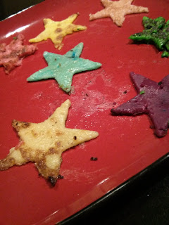colour star pancake