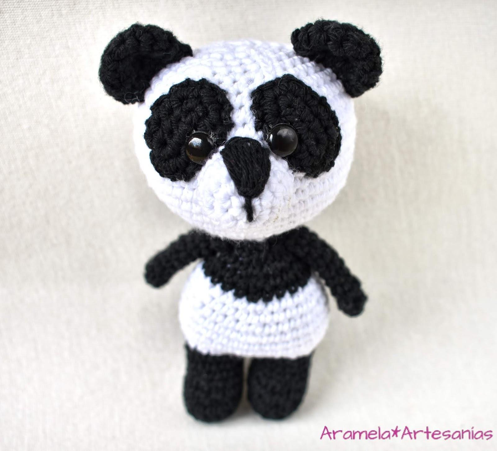 Oso Panda Amigurumi - Patrón Gratis en Español - Formato en PDF ... | 1452x1600