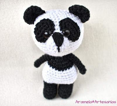 patron amigurumi gratis oso panda 1