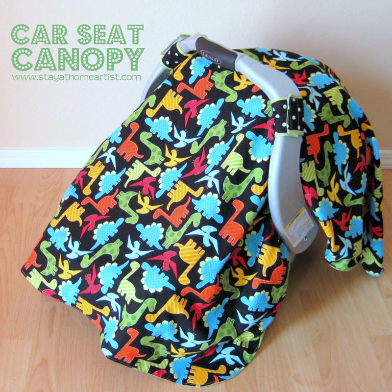 Stayathomeartist Com Car Seat Canopy