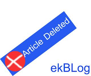 7 Langkah Menghapus Artikel Blog Permanen Plus Index Google