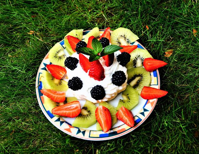 cestino meringa frutta estivo
