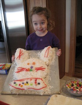 Easter bunny cakes - photo 5
