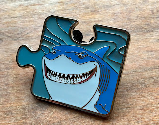Finding Nemo Character Connection Mystery Pin Bruce