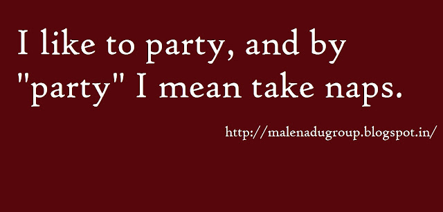 party humor quote