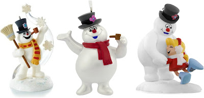 Frosty the Snowman Hallmark Ornaments