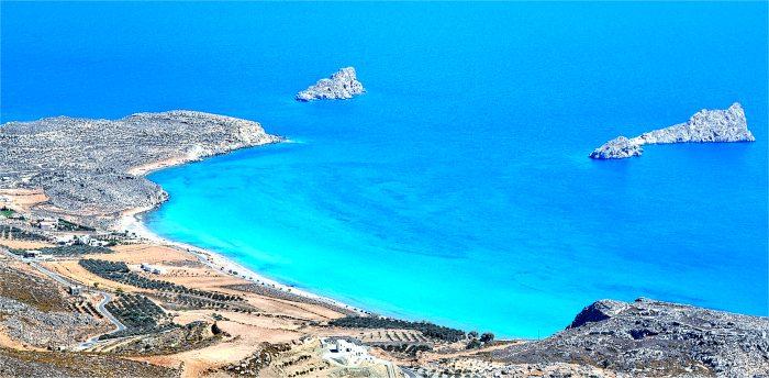 Xerokambos, isola di Creta, Grecia