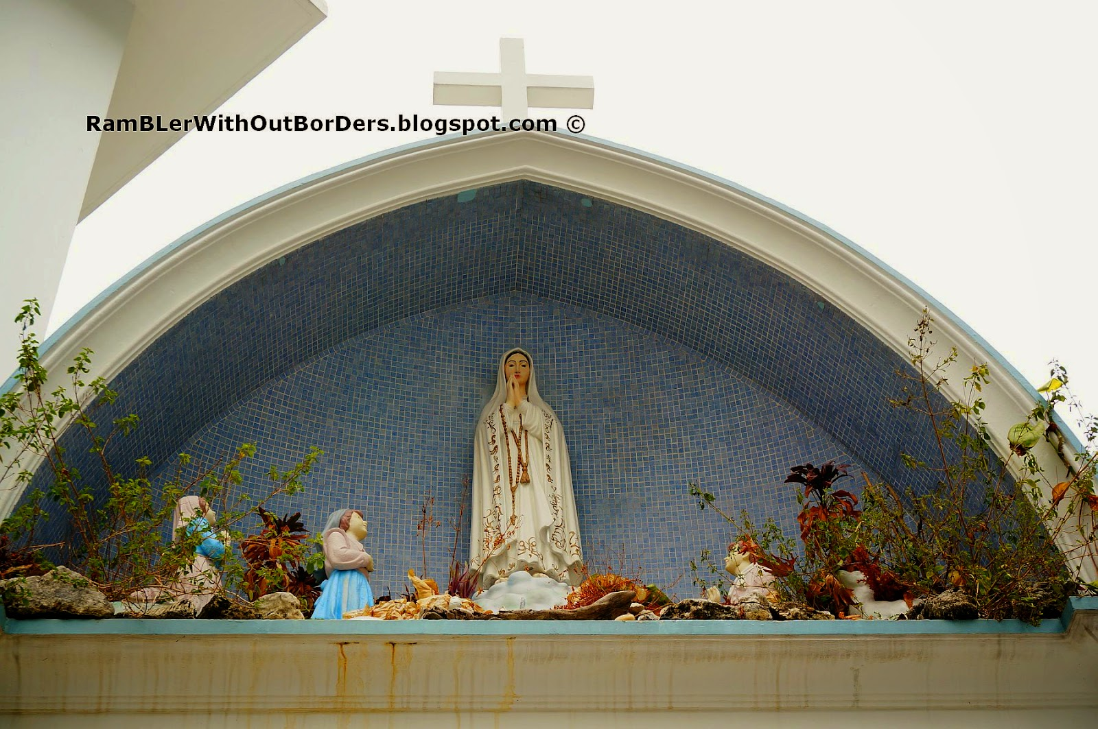 Outdoor Shrine, Our Lady of Fatima, St Joseph's Church, Victoria St, Singapore