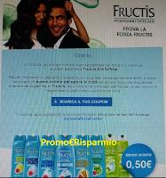 Logo Fructis Antiforfora: se non sei fra le tester ricevi un buono sconto da euro 0,50