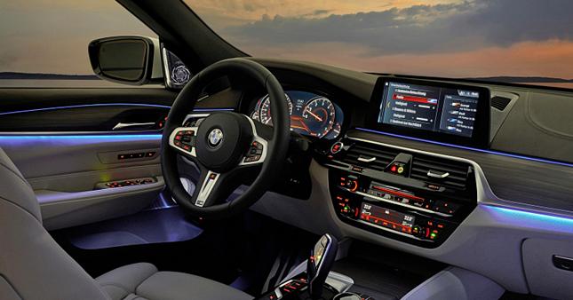 2018 Bmw 6 Series Gran Turismo Interior And Equipment