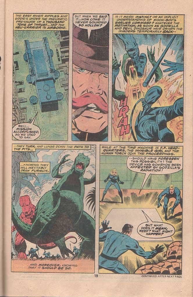 Godzilla (1977) Issue #22 #22 - English 12