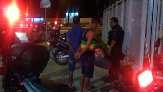 Motopatrulhamento da GMA prende ladrões de celular na em Aracaju
