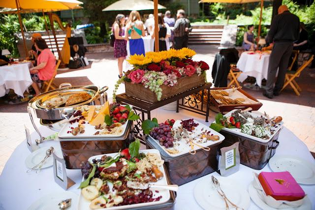 Wedding Pre-Reception in Brisa Courtyard