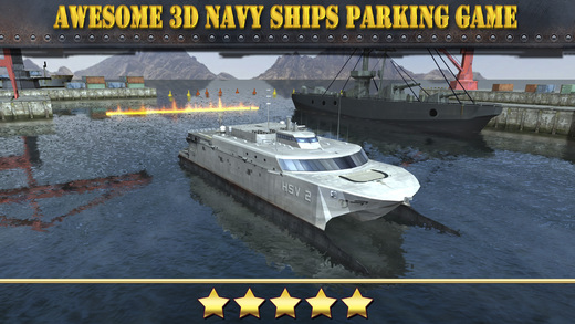 Navy Boat Parking Simulator