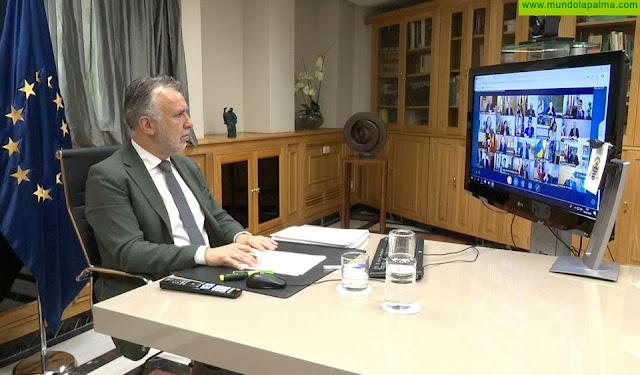Canarias traslada por escrito al Gobierno de España sus propuestas para paliar los efectos socioeconómicos del Covid-19