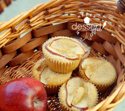 Never Dessert You Amaretto Apple Cupcakes