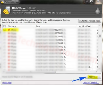 Recuva - Data Recovery Software