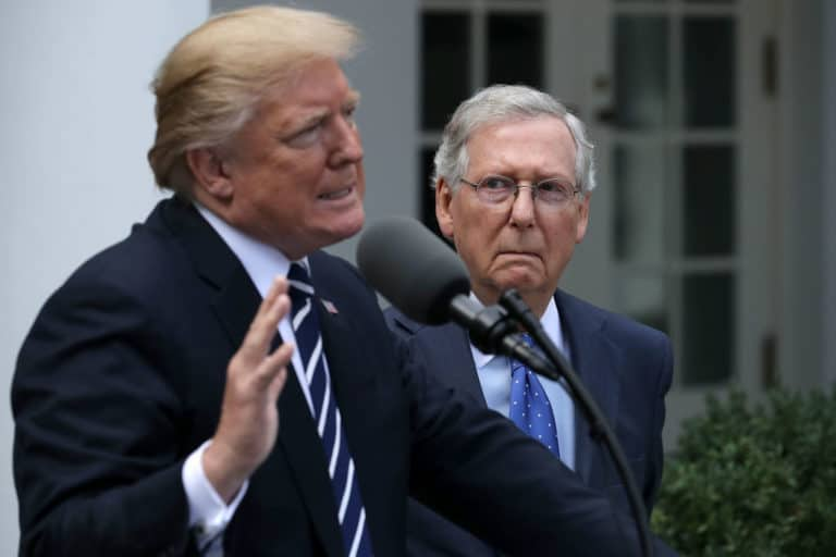 Trump Tells McConnell to Use Nuclear Option to Pass Border Wall Funding