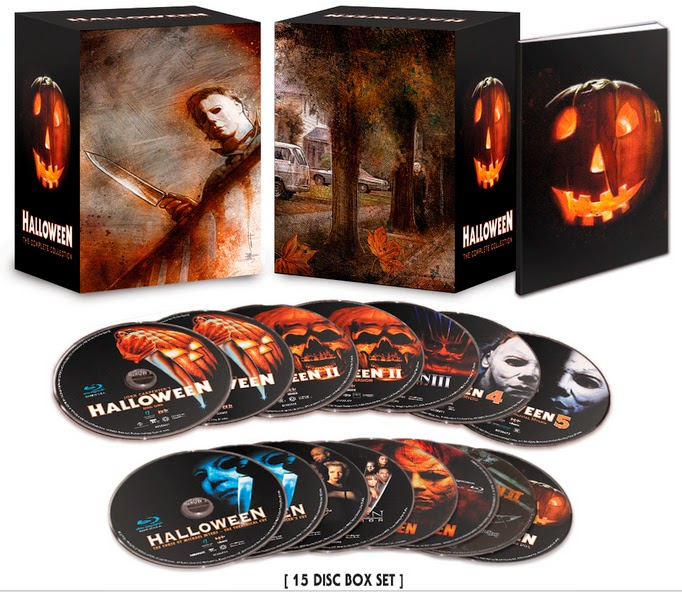 halloween complete collection box set cover art revealed - Michael Myers Halloween Decorations