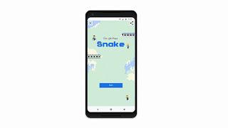 """Google Maps menghadirkan game klasik """" Snake"""""""