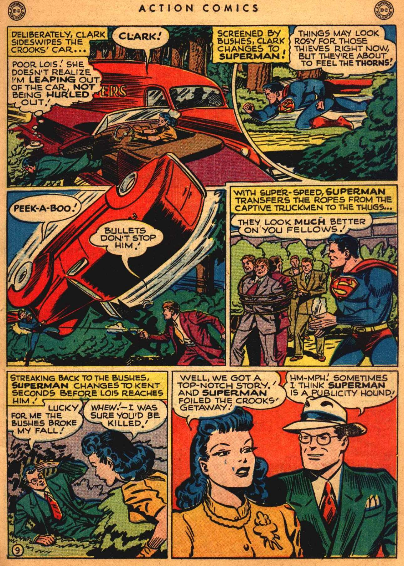 Read online Action Comics (1938) comic -  Issue #108 - 10