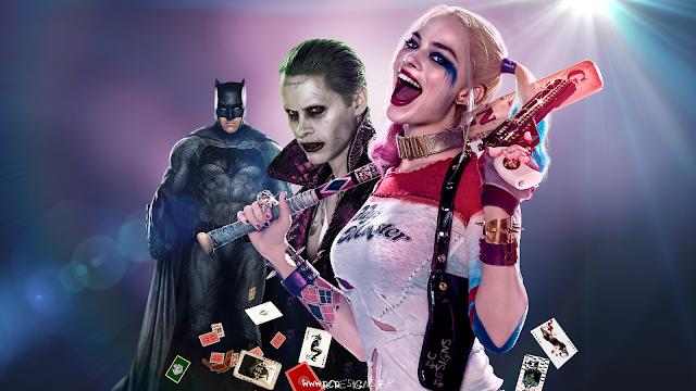 Fan Art, Digital Art, Poster, Artwork, Harley Quinn, The Joker, Batman, David Ayer, DC, Warner Bros