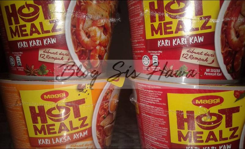 Maggi Kari Hot Mealz The Best !