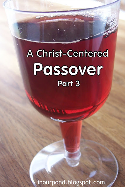 A Christ-Centered Passover Script from In Our Pond