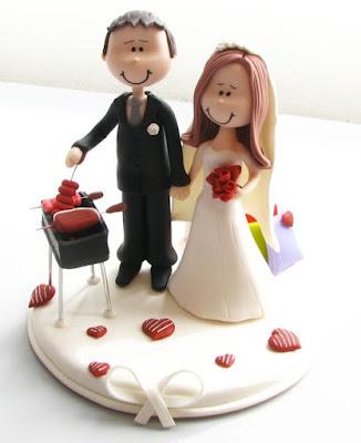 topo de bolo personalizado, topo de bolo em biscuit, bolo de casamento