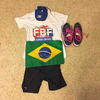 flat runner outfit for race day