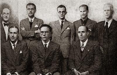 Alvar, Medina, Dr. Rey, Casas, Dr. Mundi, Fuentes, Martínez Mocete y Ribera