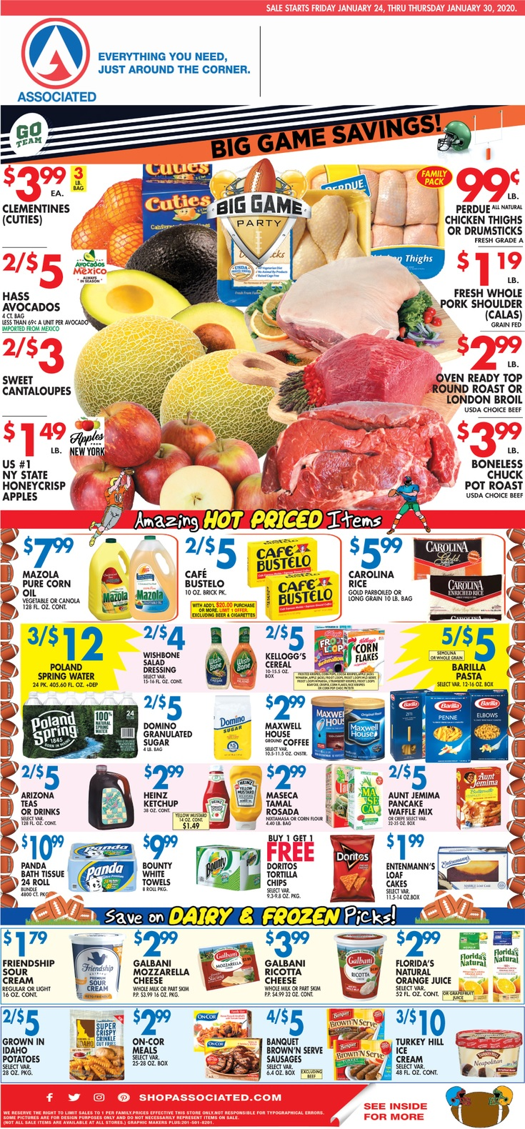 ⭐ Associated Supermarkets Ad 2/28/20 ⭐ Associated Supermarkets Circular February 28 2020