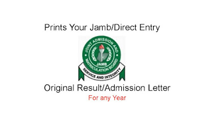 87a798aa79 ... you to get your original Jamb original Result Slip or JAMB Admission  Letter and send it to your email inbox today