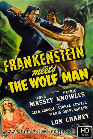 Frankenstein Y El Hombre Lobo [1080p] [Latino-Ingles] [MEGA]