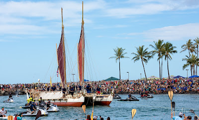 Hokule'a Returns Home (or Disney's Moana Got It Right)!