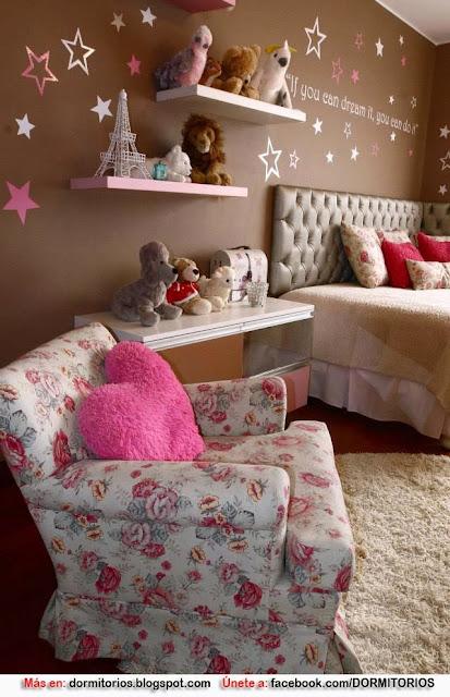 Dormitorio juvenil mujer Decoracion de interiores dormitorios ninas
